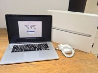 """Apple MacBook Pro Retina 15.4"""" Late-2013 Immaculate Boxed ME293B/A"""