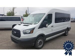 2015 Ford Transit Wagon XL 12 Passenger, 29,571 KMs, 3.5L V6 Gas
