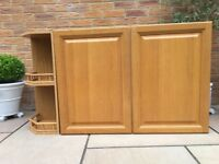 Kitchen Wall and Base units, Solid wood doors