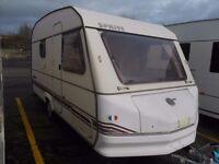 early 90s 5 berth touring caravan £895