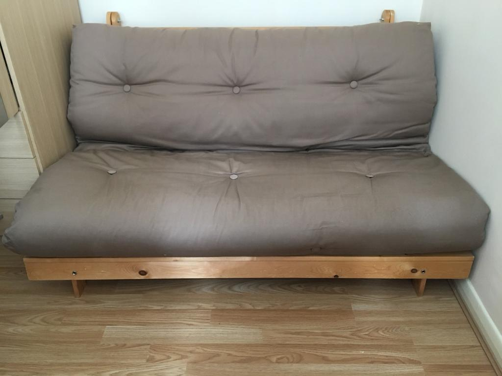 Home Tosa 2 Seater Futon Sofa Bed In