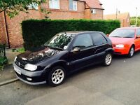 Black Saxo VTR 12 Month MOT
