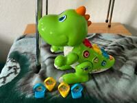 VTech Learn and Dance Dino Baby Interactive Toy