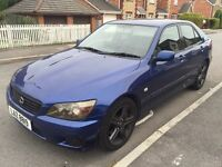 2002 LEXUS IS200 SE FINISHED IN ROYAL BLUE, RECENT MOT, XENON HEADLIGHTS, ALTEZZA LSD FITTED, ETC...