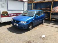 BREAKING Vw Polo 1.0 MPI