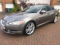 2009 (59) JAGUAR XF S PREMIUM LUXURY TWIN TURBO V6 AUTO 3.0D 275BHP WITH VERY LOW MILES 51K MINT