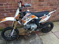 Pit bike 160cc oil cooled