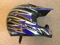 Kids Motocross Helmet for sale