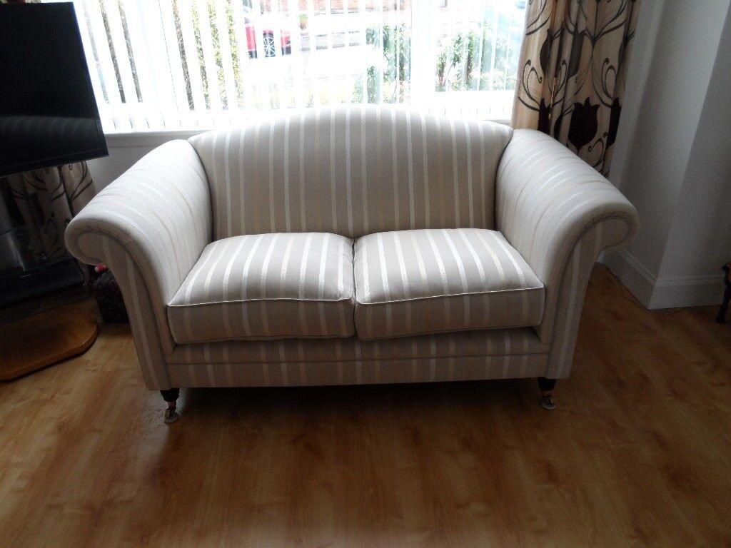 Laura Ashley Striped Sofa In Borrowstounness Falkirk