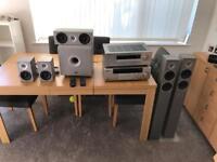 Surround sound amp & redio