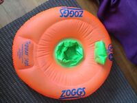 Zoggs baby swimming inflatable 12/18 months 11-15kg