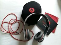Genuine Beats Solo headphones, like new