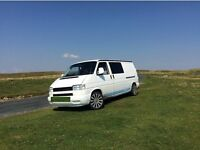 VW T4 Transporter LWB Camper Van 1.9TD 1996 (P Reg) White FOR SALE £7,500