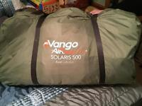 Vango Solaris 500 excel collection airbeam tent