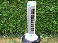 A choice of two cooling fans