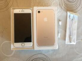 iPhone 7 Gold 128Mb Mint Condition
