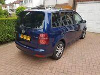 Volkswagen Touran 2009 1.9 TDI BlueMotion Tech SE 5dr (7 Seats)