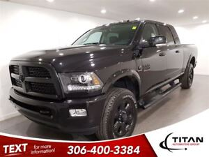 2017 Ram 2500 Laramie|4x4|Cam|Leather|Sunroof|Bluetooth