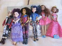 DISNEY DESENDANTS DOLLS