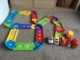 Toot Toot tracks and vehicles