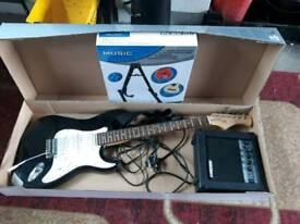 Electric guitar still in box