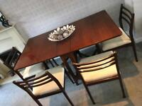 Lovely Mid Century Gate Leg Dining Table And 4 Chairs Like GPlan