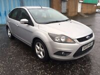 (59) Ford Focus 1.6 Zetec , mot - November 2018 , service history , 2 owners,astra,civic,golf,auris