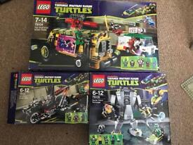 Lego Bundle - Star Wars - Batman - Turtles