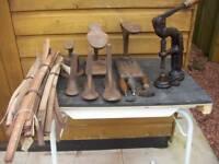 Shoe repair tools. Job Lot