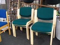 office chairs... job lot Green Blue 10 in total