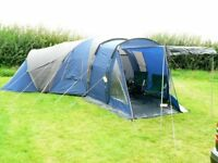 Royal Sassari 6 Tent - 2 bedrooms, great for families, blue & grey colour