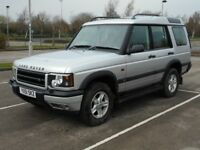 Land Rover Discovery TD5. 2.5L Automatic with just 106,442 miles on the clock. MOT Til Sept 2018