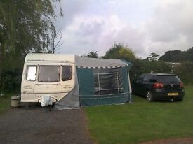 Now reduced !Two birth caravan complete starter kit, fully equipped, ready to go with all you need.