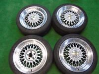 """BBS STYLE 17"""" ALLOY WHEELS TO FIT VW GOLF MK4 5 x 100"""