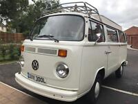 VW T2 camper, new engine