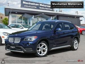 2014 BMW X1 X-DRIVE 28i SPORT PKG |PANORAMIC|HID|PHONE|1OWNER
