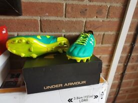 Under armour size 7 football boots