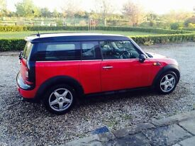Mini clubman only 4,500
