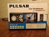 Brand new in box Car stereo with built in DVD player