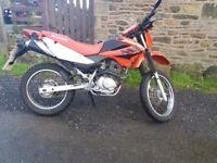 Honda xr 125 VERY CLEAN 2 OWNERS enduro bike 125cc cbt learner legal