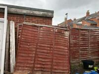 Free For Sale Fences Fence Posts Gumtree