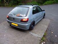 Peugeot banded steel wheels in 15inch, 4x108 pattern, Ford Fiesta, Renault