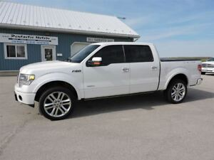 2013 Ford F-150 Limited,LEATHER,NAVI,POWER EVERYTHING!!