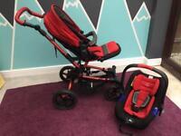 Jane (janè) Crosswalk Travel System/pushchair/buggy/car seat