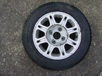 Peugeot 405 2 x wheels and tyres