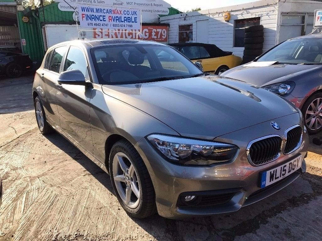 2015 BMW 1 SERIES 116D SE SPORT HATCH 5 DOOR 1.5 DIESEL AUTOMATIC, £0 ROAD TAX FINANCE £235 PR MONTH