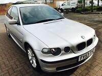 BMW 316Ti Compact, 2003, 1.8 ltr Petrol, 68k mileage F.Service History, Cambelt Done,Mot