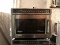 3 Amana Microwaves model UHDC5112