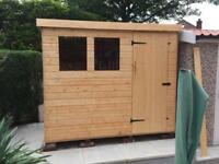 5x4 Pent Roof Garden Sheds £299.00 Heavy Duty, Free Delivery & Installation ALL SIZES AVAILABLE