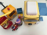 Collection of Peppa Pig toys in good condition